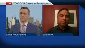 Epidemiologist on slowing down COVID-19 in Saskatchewan (04:28)