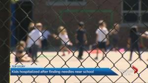 Parents urged to talk to kids after needles found near Toronto school yard