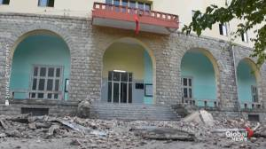 At least 105 injured after 5.8 magnitude earthquake hits Albania