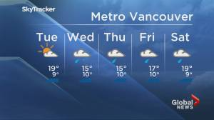 B.C. evening weather forecast: May 18