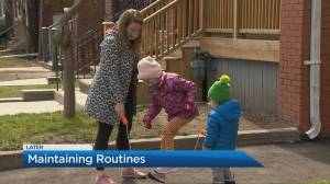 How to maintain routine with kids amid pandemic stress (04:20)