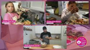 Kitchen Door launches Kids Cook Supper Club (06:03)