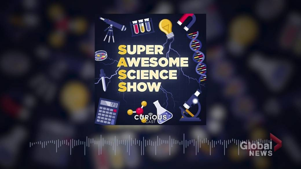Click to play video 'The Super Awesome Science Show pivots to cover the COVID-19 pandemic'