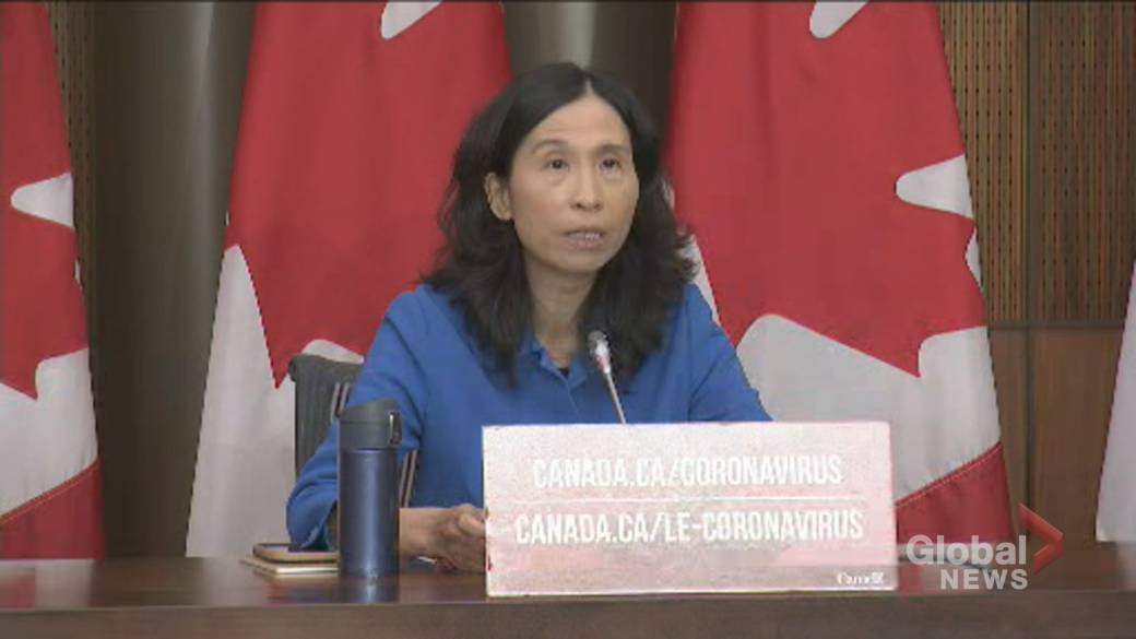 Click to play video 'Coronavirus: Tam says provinces need to 'test smartly' as 2nd wave of COVID-19 grips Canada'