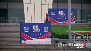 Chinese state television drops NBA games amid Twitter row