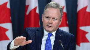 Bank of Canada governor discusses economic forecast amid slowing global growth