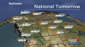 Edmonton weather forecast: Jan 3 (03:16)