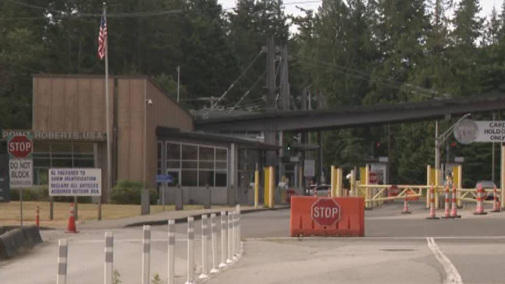 Click to play video: 'How U.S. land border reopening will impact Point Roberts'