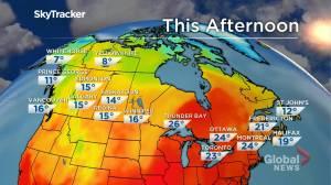 Winnipeg weather outlook: Sept. 20 (01:44)