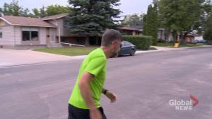 Runner pounds pavement throughout Saskatoon