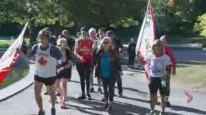 Montreal cancer survivor completes 41st Terry Fox Run in honour of his hero (02:25)