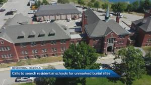 Growing calls to search residential schools for unmarked burial sites (06:58)