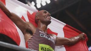 How Canadian gold medalist Damien Warner is tackling food insecurity (04:23)