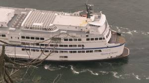 COVID-19 recovery: BC Ferries get federal 'Safe Restart' cash (01:08)