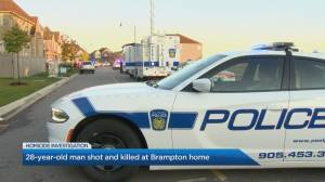 Early morning shooting in Brampton leaves man dead.