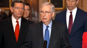 Mitch McConnell and Chuck Schumer clash over impeachment trial and Iran