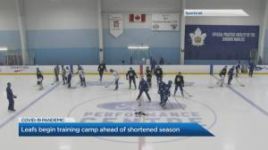 Toronto Maple Leafs begin training camps