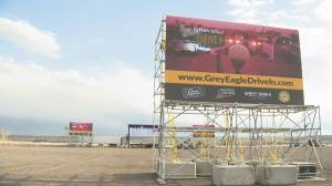 Drive-in movies on Tsuut'ina Nation will resume despite restrictions while High River drive-in must close (02:08)