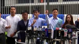 Pro-democracy activist Joshua Wong banned from Hong Kong election