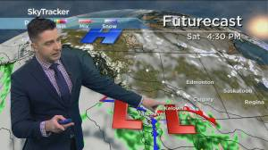 Kelowna Weather Forecast: April 23 (03:42)