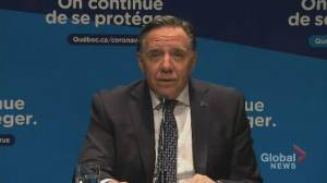 Coronavirus: Quebec premier lays out two restrictions for celebrating Halloween
