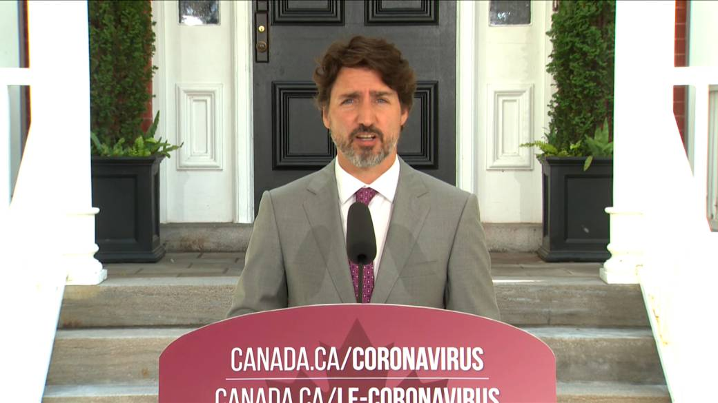 Click to watch video 'Trudeau praises new CUSMA trade deal, which takes effect Wednesday'