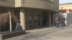 Penticton city council mulling options in feud over downtown emergency shelter (02:11)