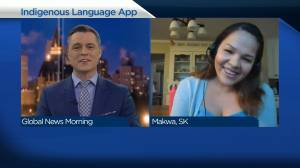 Meadow Lake Tribal Council's new app preserving Cree language (04:29)