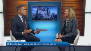 Why Ontario is banning vaping ads at convenience stores