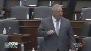 COVID-19: Doug Ford defends closure of outdoor amenities in Ontario (04:24)
