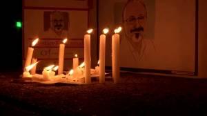 Turkey criticizes sentencing in Jamal Khashoggi murder as 'sham trial' (02:06)