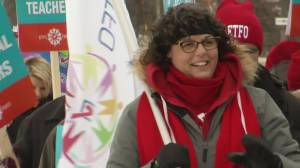 Peterborough parents share thoughts on teachers' strikes