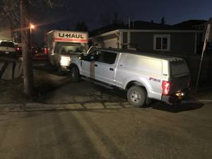 Man arrested by police after U-Haul drives dangerously through Calgary