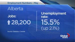 Alberta sees net job increase in May