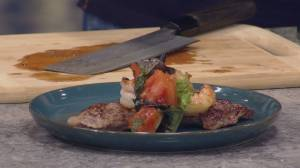 Sustainable Protein – One Pan Surf and Turf