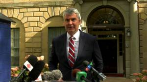 McNeil discusses new cabinet appointments (00:50)
