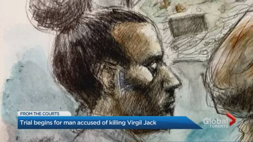 Trial for Nicholas Johnson, accused of 2nd-degree murder of Virgil Jack, begins