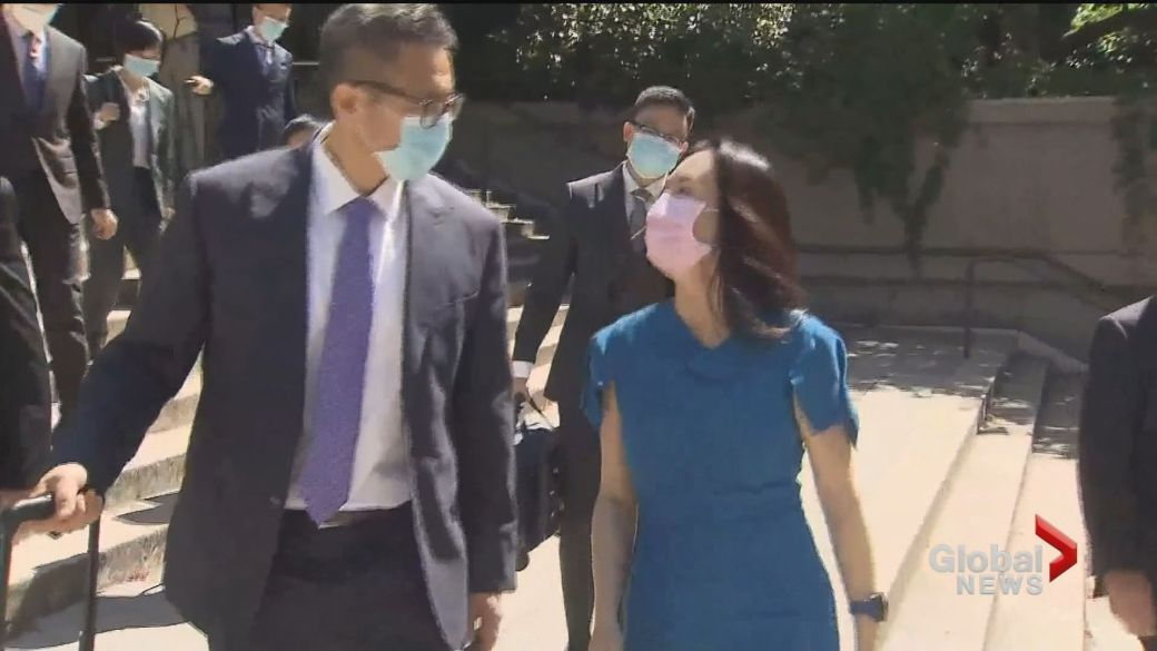 Click to play video: 'Extradition hearing for Meng Wanzhou enters final weeks'