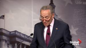 Democratic Senator Chuck Schumer says Justice Department report confirms no political bias toward Trump