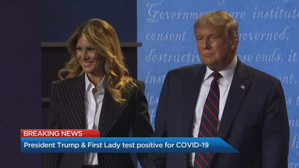 Click to play video 'How Donald Trump's COVID-19 diagnosis will impact his campaign'