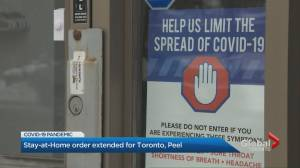 Province agrees to hold back Toronto and Peel Region after local medical officers of health request it (02:10)