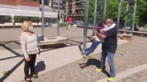 Families reunite as Italy eases lockdown