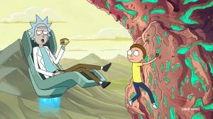 T.V. trailer: Rick and Morty