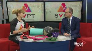 SVPT Fitness on Global News Morning Weekend