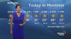 Global News Morning weather forecast: Monday August 26, 2019
