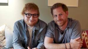 Ed Sheeran and Prince Harry join forces to raise awareness on World Mental Health Day