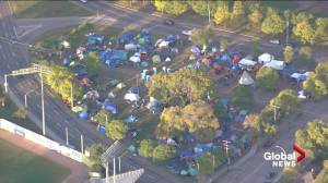 An insiders view of the Camp Pekiwewin Rossdale homeless encampment (02:08)