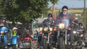 Southern Alberta bikers donate toys to Lethbridge women's emergency shelter