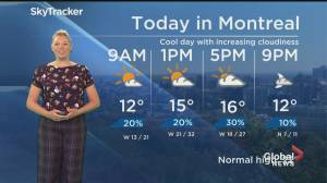Global News Morning weather forecast: June 1, 2020