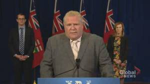 Coronavirus outbreak: Doug Ford says COVID-19 testing numbers are 'unacceptable'